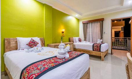Coral room of Mejore Hotel in Amed